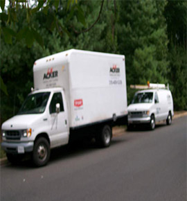 Acker HVAC Trucks