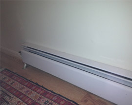 Baseboard heating services