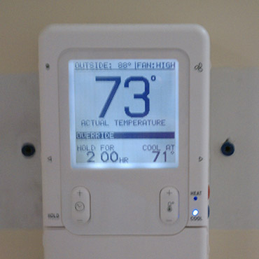 Thermostat installations